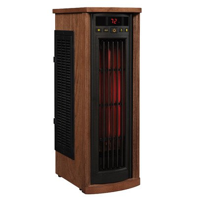 Electric Tower Infrared HeaterIndoor Portable 1500 Watt 5200 BTU 1000 SQ FT Space NEW Review