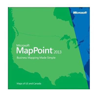 IC-GeoSuite plus - Microsoft MapPoint2013 North America (ISV-Version) - English