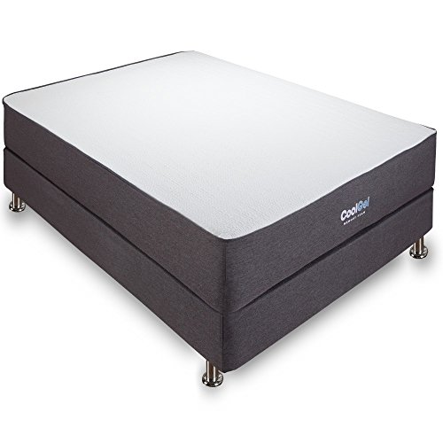 Classic Brands 10.5 Inch Cool Gel Ventilated Memory Foam Mattress, Queen by Classic Brands (Image #1)