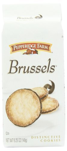 Pepperidge Farm Brussels Cookies, 5.25-ounce (pack of 4) by Pepperidge Farm [Foods]