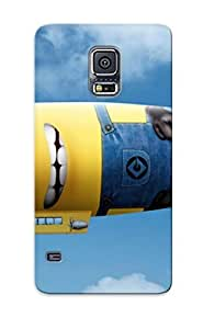 Protection Case For Galaxy S5 / Case Cover For Galaxy(minion Blimp)