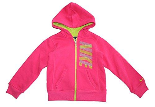 Zip Front Girls Sweatshirt - 8