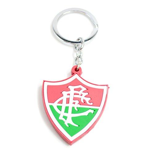 Chaveiro De Borracha Com Brasão De Time Fluminense