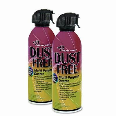 Read Right Pc Duster - Read Right - Dustfree Multipurpose Duster 2 10Oz Cans/Pack