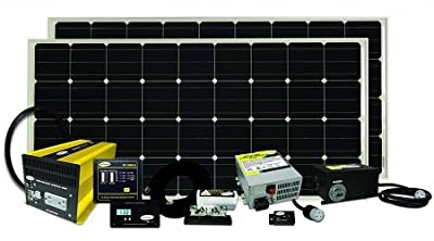 RV Trailer Solar Charging Kit 320 Watt Go Power SOLAR ELITE
