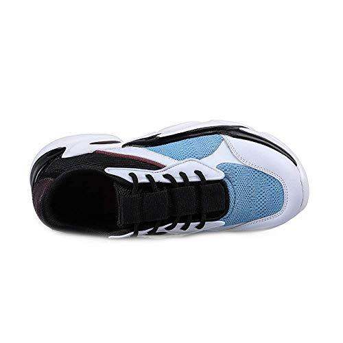 Printemps Sol Chaussures Loisir Piste Engrener Sport Léger Poids Jogging Amortissement Unisexe De Le Prairie Chaussures Aptitude Vieilles Course White Respirant rq1wrS