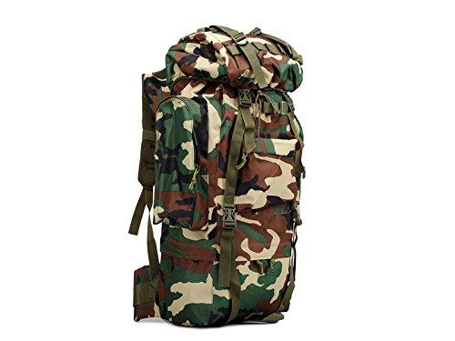Hwydhclbackpack 65L sacchetto esterno zaino da viaggio borsa a tracolla sportiva multifunzionale zaino