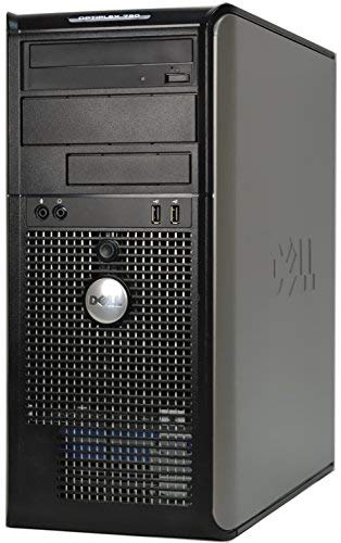 Dell Optiplex 780 Mini Tower Business Desktop Computer PC (Intel Dual-Core 3.06GHz Processor, 4GB DDR3 Memory, 160GB HDD, DVDRW, VGA, DisplayPort, Windows 7 Professional) (Renewed)
