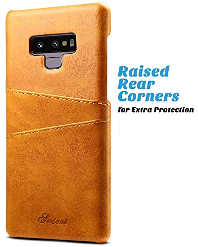 Galaxy Note 9 Wallet Phone Case, XRPow Slim PU Leather Back Protective Case Cover With Credit Card Holder for Samsung Galaxy Note 9 by XRPow (Image #3)'