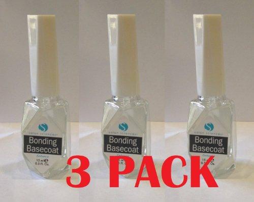 Salon Sciences 3pc Nail Top and Base Coat 2 in 1 Enhanced Salon Proven Nail Care