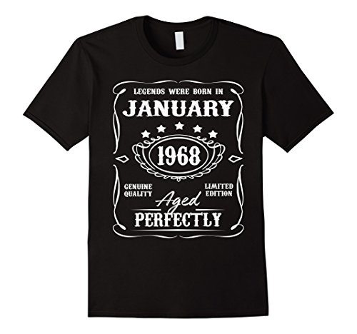 Legends were born in January 1968 t-shirt for 50th Birthday