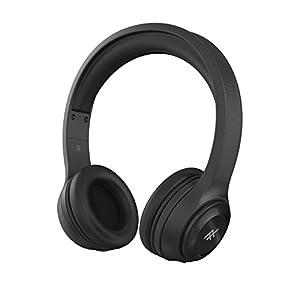 iFrogz Audio - Toxix Wireless Over-The-Ear Wireless Headphones - Black - IFTXWH-BK0
