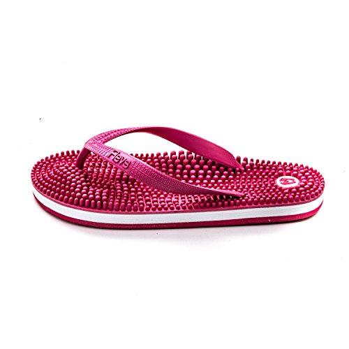 seguendo Il Piede Giapponese Rosa i della Sandali massaggiano Revs Che principi riflessologia Xfq1x