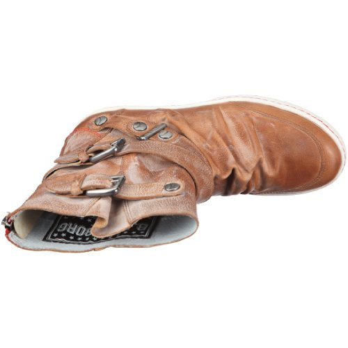 Björn Borg Footwear Kim 3 - Botas de cuero para mujer Beige