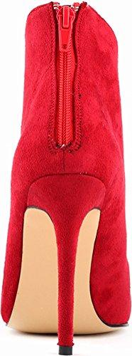 Salabobo - Zapatos con correa de tobillo mujer Red