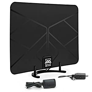 Amazon Com Bam Cables Hdtv Amplified Indoor Hd Antenna