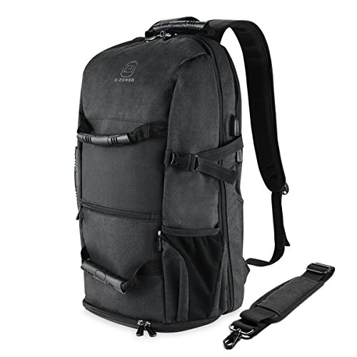 Travel Outdoor Computer Backpack Laptop bag 18''(black) - 2