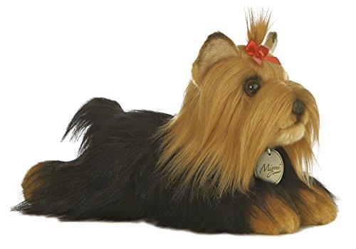 "Price comparison product image Aurora World Miyoni 11"" Yorkshire Terrier Stuffed Dog with Brush"