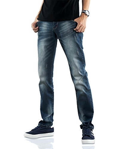 Demon&Hunter 817 Slim Series Men's Stretch Fit Jeans DH8171(36)