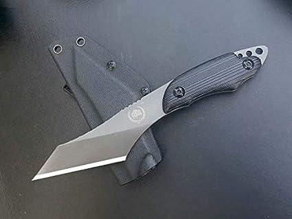 Amazon.com: FBIQQ FB-004 Thunder - Cuchillo de caza táctico ...
