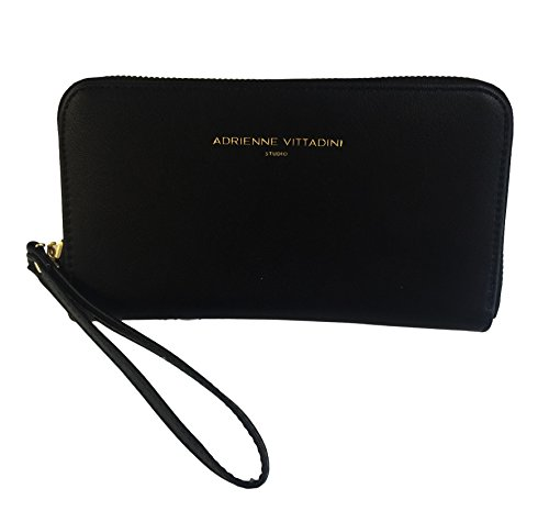 adrienne-vittadini-charging-zip-around-wallet-wristlet-iphone-android-black-smooth