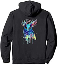 Beautiful Painted Owl Hoodie