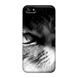 Tpu 6Plus Shockproof Scratcheproof Cat Head Hard Case Cover For Iphone 5/5s
