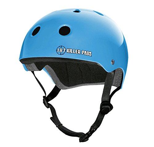 超歓迎された 187 キラーパッド B015XOLX4Y プロスケートヘルメット B015XOLX4Y Small|ライトブルー ライトブルー Small ライトブルー Small, へんじんもっこ:bd8f8329 --- a0267596.xsph.ru
