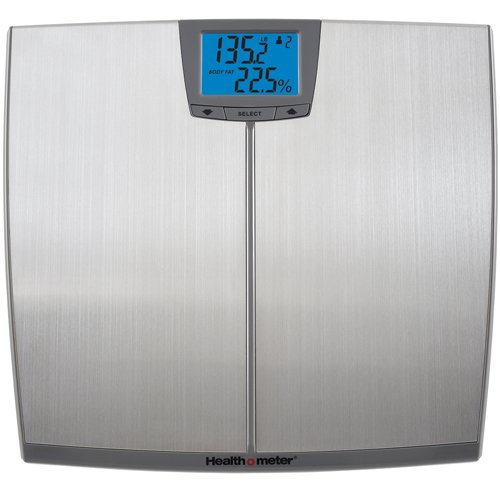 Health o meter BFM148DQ-99 Stainless Steel BMI Body Fat Bone Mass Scale ()
