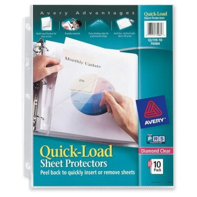 Avery Quick Load Sheet Protector (QL119-10P) ()