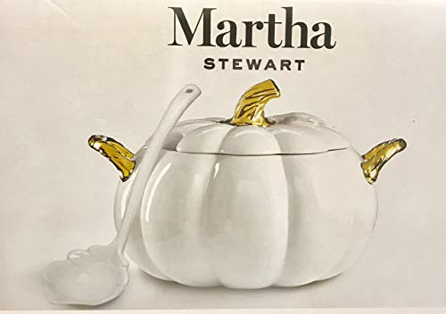 (Martha Stewart Collection - Harvest Pumpkin -Lidded Soup Tureen)