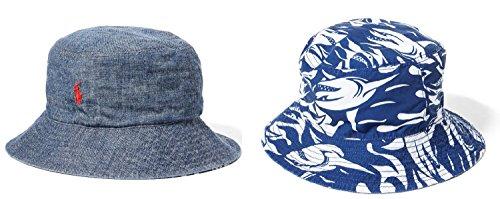ys Reversible Chambray Bucket Hat (2T-4T) ()