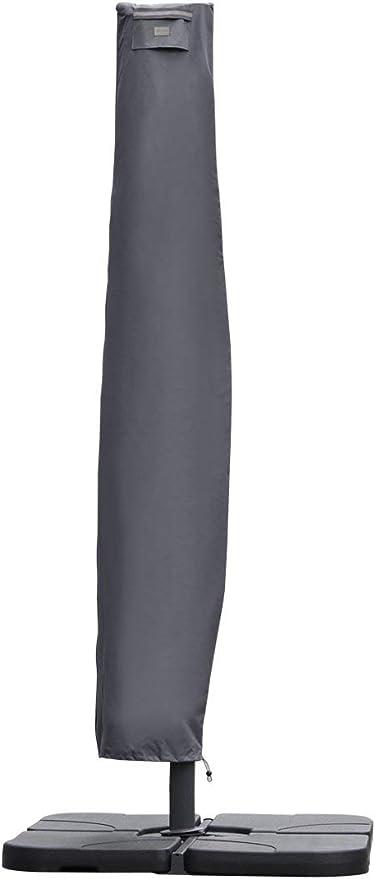 240×33//45cm, Grau Sekey Schutzhülle für Ampelschirm,Abdeckhauben für  240
