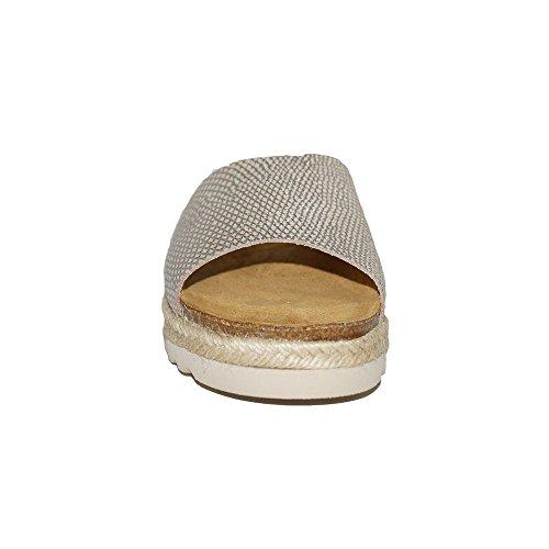 Primar 7020 Shoes Mujer Piel Sandalia Confort Esparto Plana Paola dhQrBtxoCs