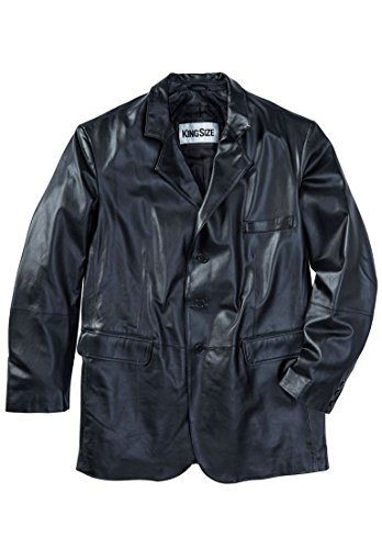 3 Button Leather Jacket - 6