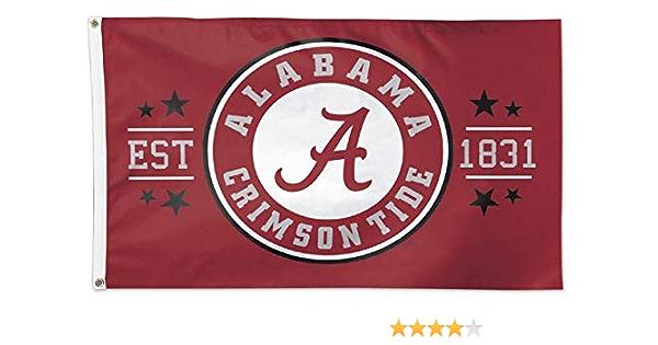 3 x 5 WinCraft NCAA University of Alabama 01902115 Deluxe Flag