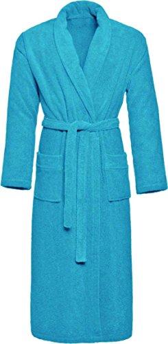 100 coton 100 Eco Peignoir Turquoise Normani éponge avec de qualité Tex supérieure I pqwOw5