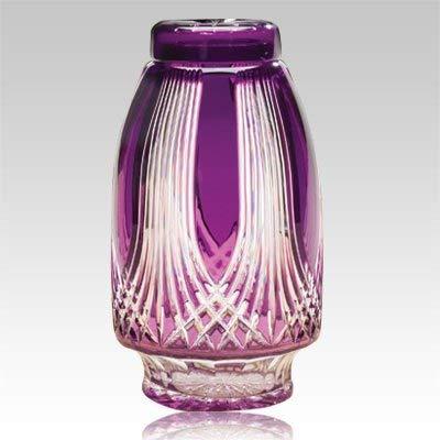 Memorials.com Gothic Glass Cremation Urn ()