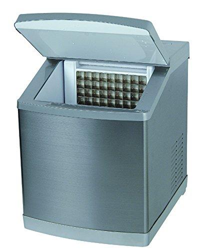 4045 Iceage Machine à Glaçons Entièrement Automatique - Silver