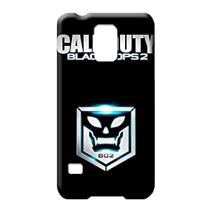 samsung galaxy s5 covers Plastic New Arrival cell phone shells call of duty black ops 2 skull and crest