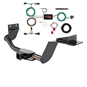 curt class 3 trailer hitch bundle with wiring for 2016 kia sorento 13195 56256. Black Bedroom Furniture Sets. Home Design Ideas