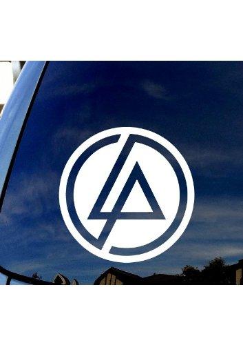 "SoCoolDesign I've Become So Numb Lyrics LP Car Truck Laptop Sticker Decal 6"" Wide (White)"