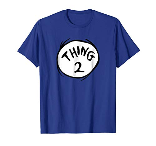 Dr. Seuss Thing 2 Emblem T-shirt