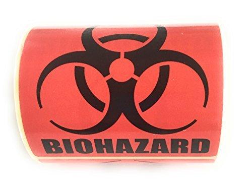 Biohazard Warning Label, 4