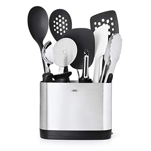 (OXO Good Grips 10-Piece Everyday Kitchen Tool Set, Stainless Steel)