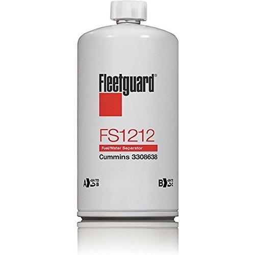 12//PACK FLEETGUARD FUEL WATER SEPARATOR FS1212