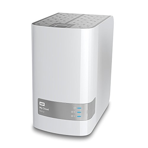 WD WDBZVM0040JWT-NESN 4TB My Cloud Mirror Personal Network Attached Storage (Certified Refurbished)
