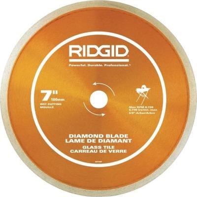 RIDGID 7 in. Glass Tile Blade