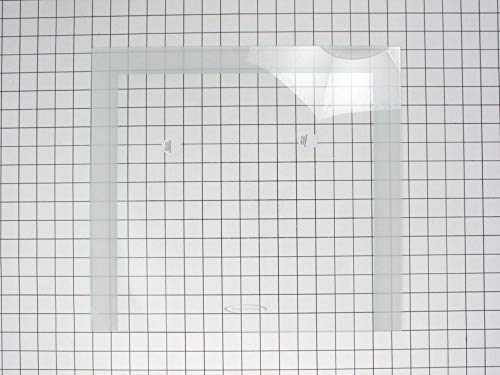 Ge WR32X10130 Refrigerator Crisper Drawer Cover Glass Insert Genuine Original Equipment Manufacturer (OEM) Part