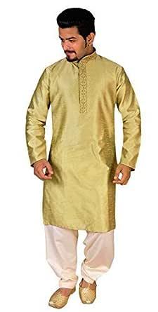 Para hombre Tradicional Salwar kurta kameez fiesta pijama sherwani ...